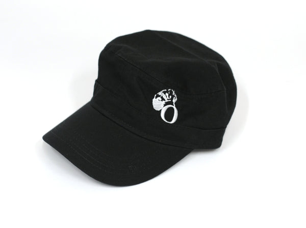 Black Painter's Cap