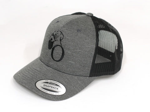 Black Trucker Hat
