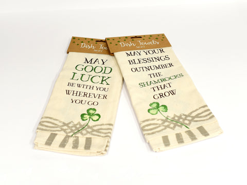 St. Patrick's Day Dish Towels