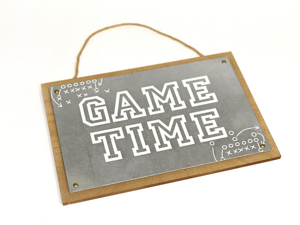 Game Time Sign