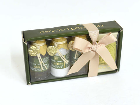 OLIVE COMPLEX MINI TRAVEL SET