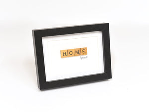 Home Scrabble Sign