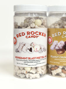 Red Rocker Candy Snack Mix