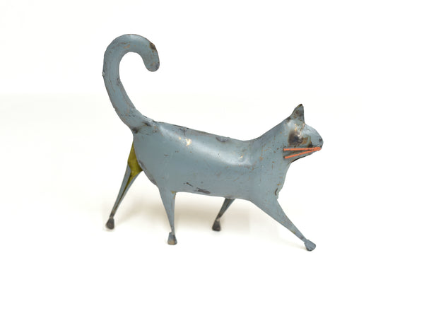 Tin Cat Decor