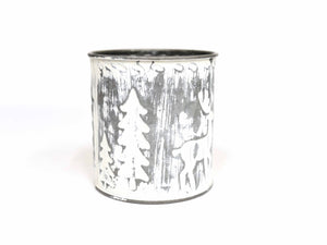 Metal Tree Canister
