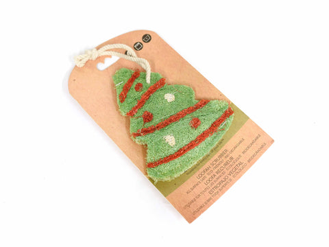 Christmas Tree Loofah Scrubber