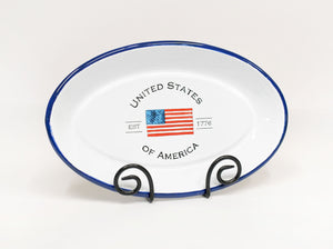 United States of America Platter