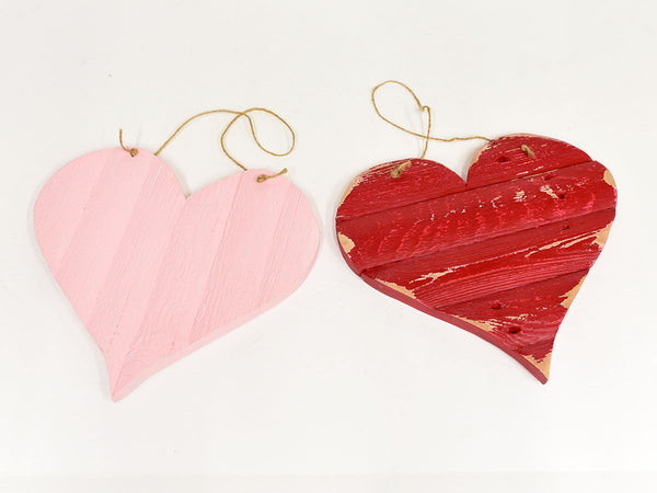 G&J Designs Wooden Hearts