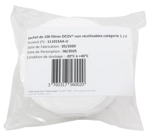 filtre distributeur OCOV - masque-sure.com