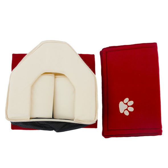 Soft Dog House with Blanket Option