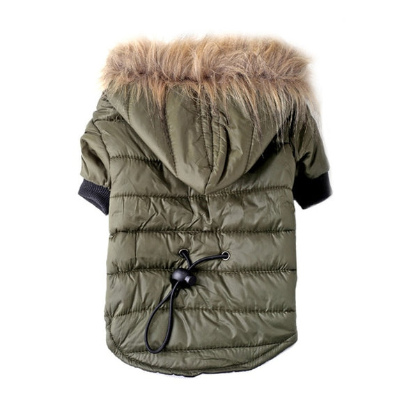 Pet Winter Coat with Soft Fur