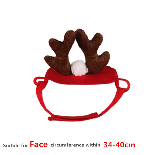Cute Deer Christmas Costume for Cats
