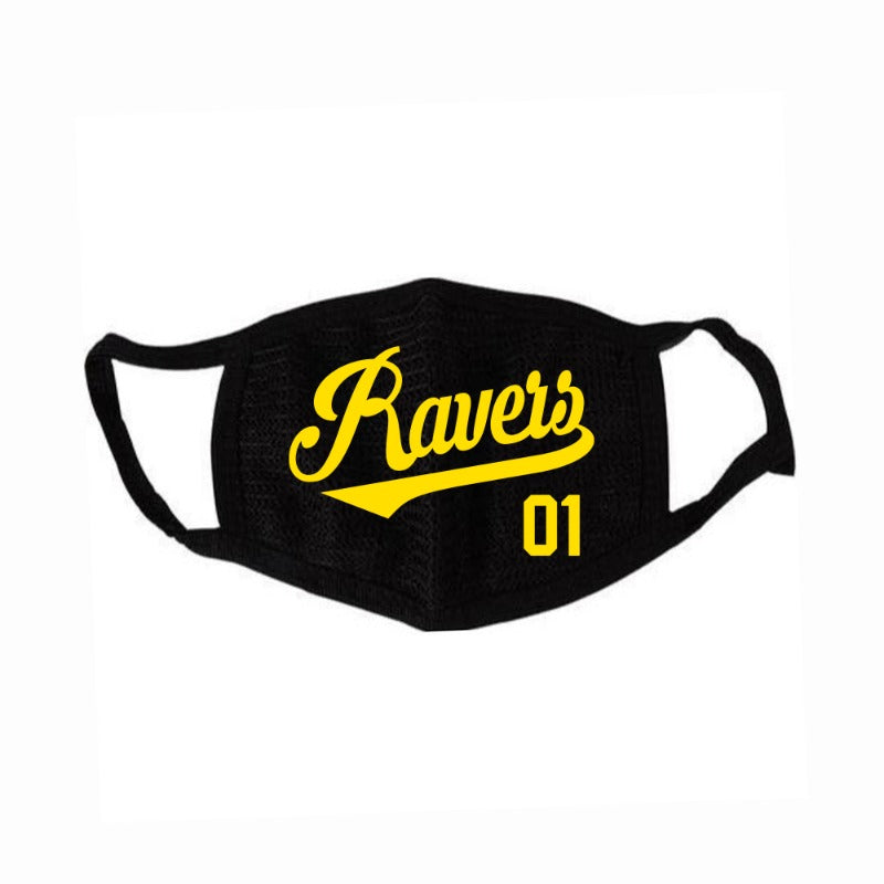 Ravers Facemask - Gold