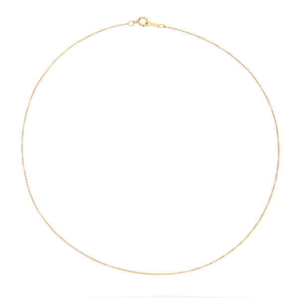 Gold Plain Chain