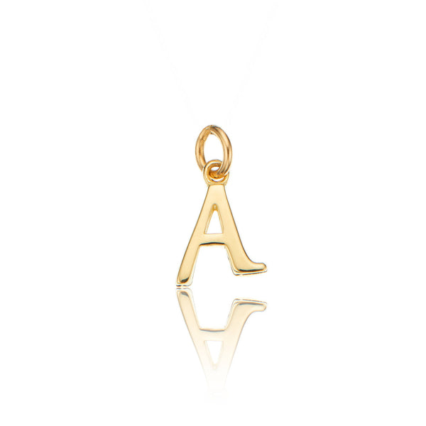 Solid Gold Individual Curve Initial Charm