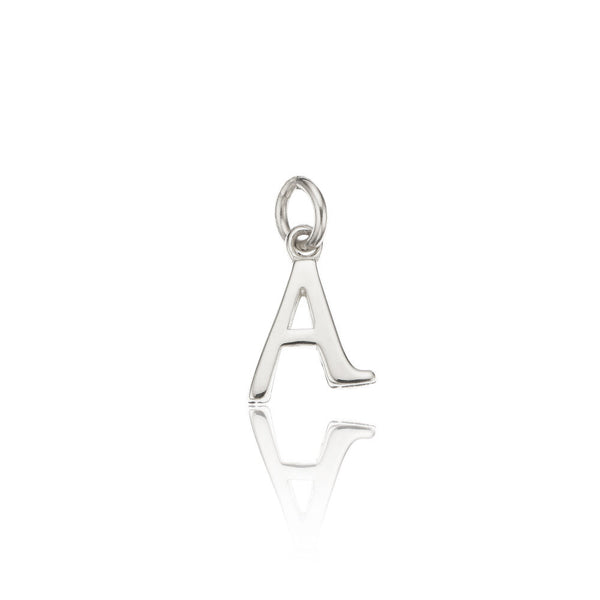 Silver Individual Curve Initial Charm