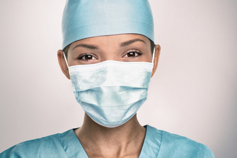 Healthcare professional in PPE