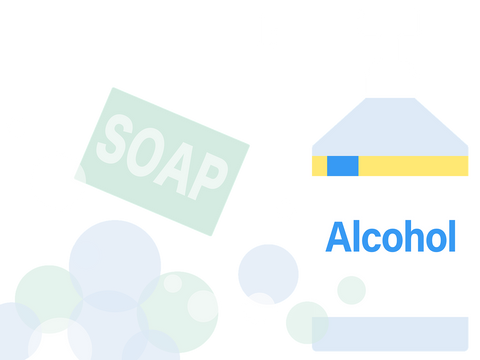 Soap and Alcohol-based Hand Sanitizers