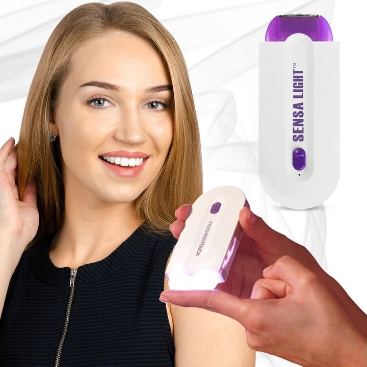 Finishing touch hair remover: Painless epilator with micro vibrations!