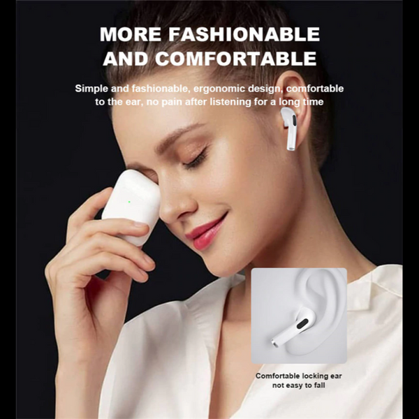 2020 New AIR 4: Bluetooth headphones for iOS and Android