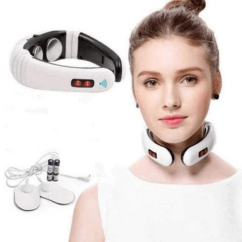 Effective neck massager with infrared heat