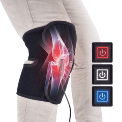 Heated knee brace: Just treat your joints with thermotherapy at home!