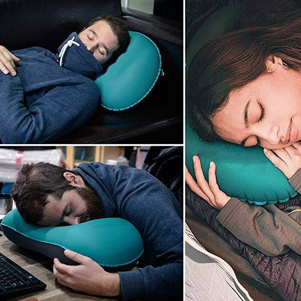 Travel Pillow: Removable Hood and Prevents Fatigue