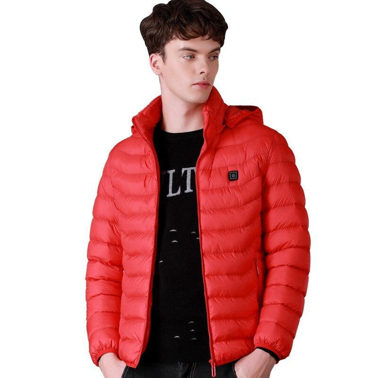 Unisex warm down jacket
