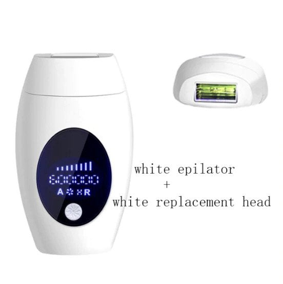 Mini 600000 flash permanent epilator laser hair removal electric for household permanent lip hair under the private parts