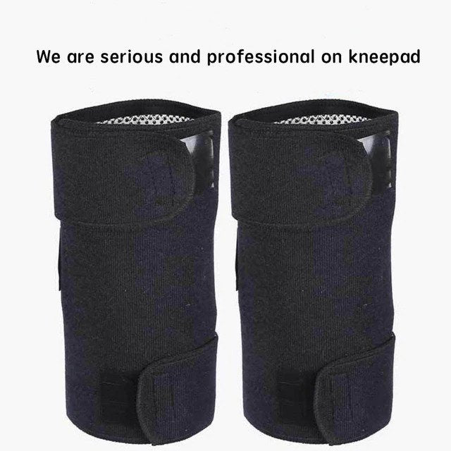 2pcs Tourmaline Self Heating orthopedic knee braces for arthritis Magnetic Therapy tourmaline knee pads Sleeves Brace Support