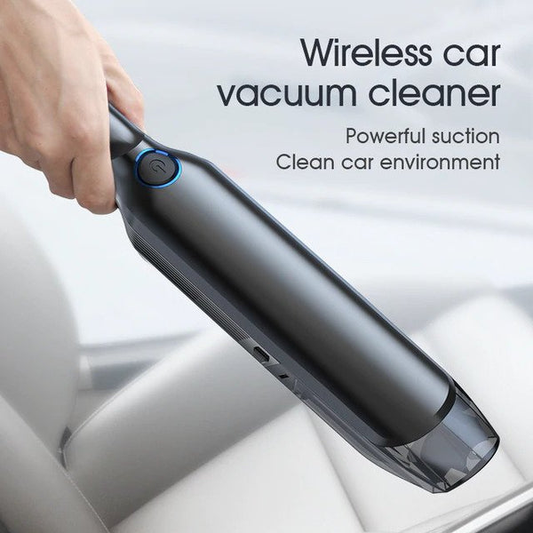 Licheers Mini Wireless Car Vacuum Cleaner Super Strong Suction 5000 Pa 60W Portable Handheld Auto Vacumm Cleaner for car home
