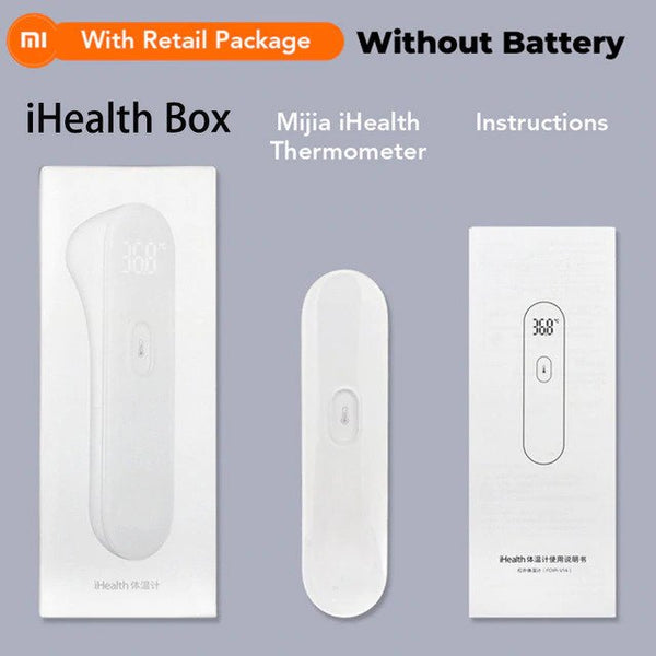 Original Xiaomi Mijia iHealth Thermometer LED Digital Fever Infrared Clinical Non Nontact Measurement LED Screen