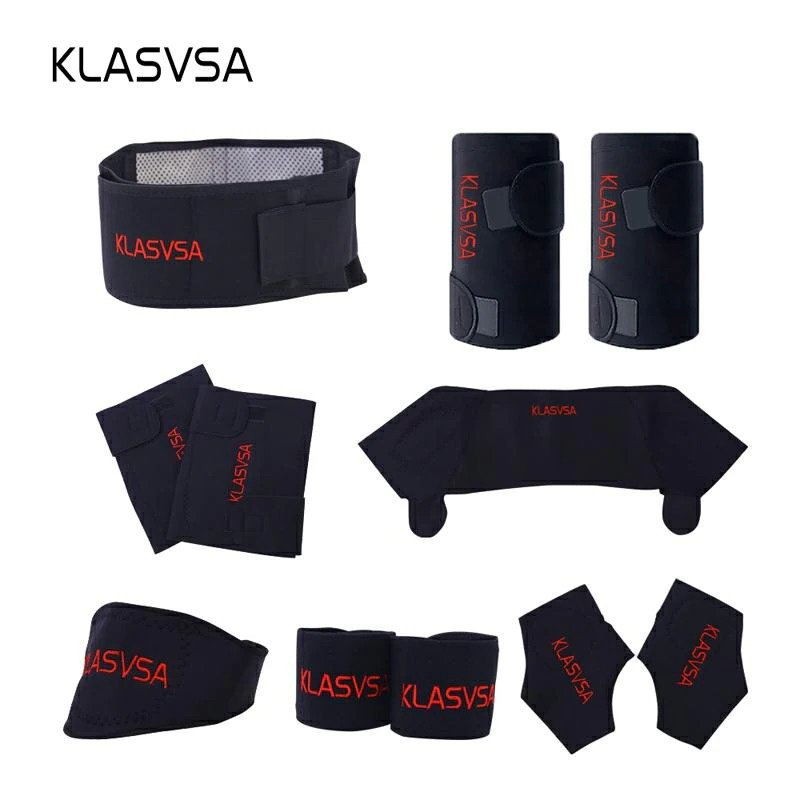 11pcs/set Self-heating Tourmaline Belt Magnetic Therapy Neck Shoulder Posture Correcter Knee Support Brace Massager Products