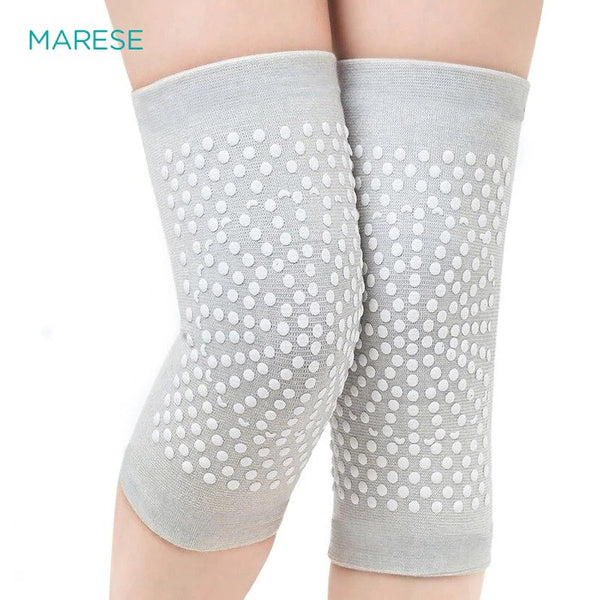 MARESE Tourmaline Self Heating Support Knee Pads Knee Brace Warm for Arthritis Joint Pain Relief and Injury Recovery