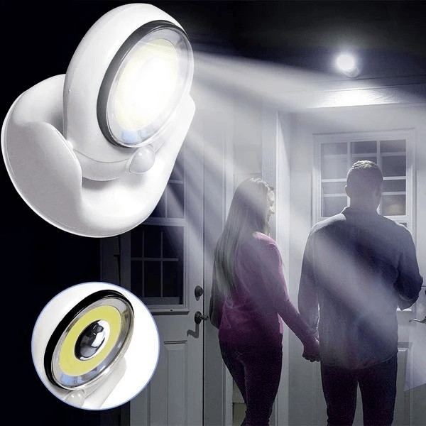 Action-Motion LED: Ultra-bright lamp with motion sensor