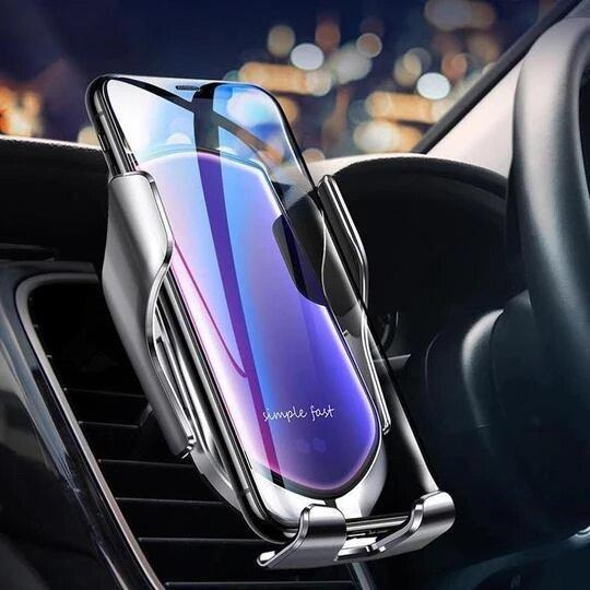 2 in 1 mobile phone car holder Wireless charging station
