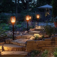 Flame Lantern: Fiery ambience for your garden