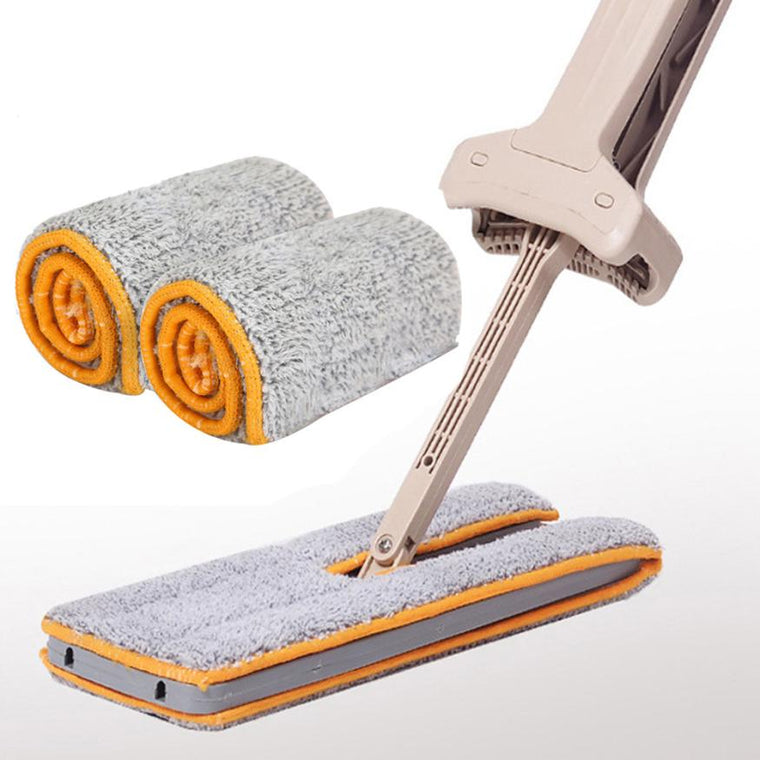 UltraMopp: adjustable double-sided mop