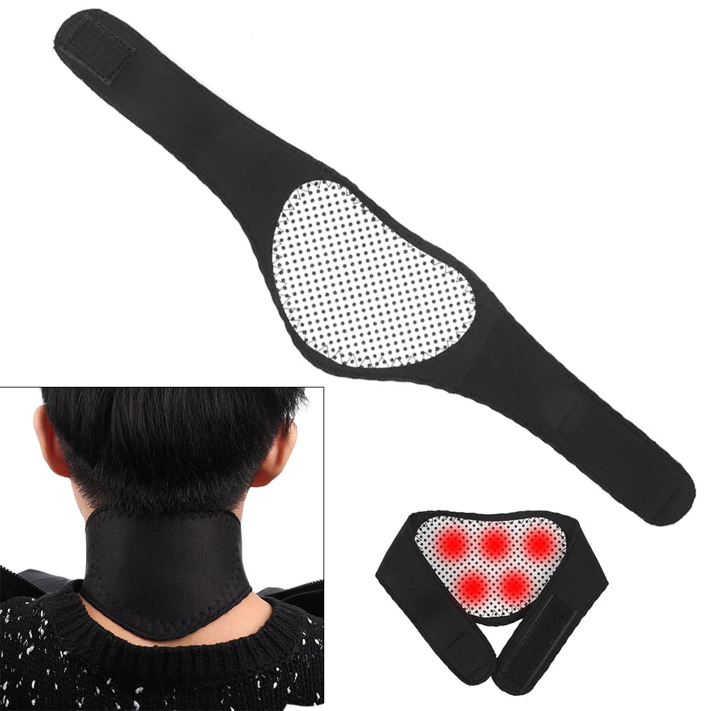Self-Heating Magnetic Collar: Neck Support That Relieves Pain