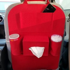 Back seat organizer: Multifunctional car back seat organizer, storage bag