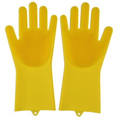 SauberFix: cleaning gloves with short hairs