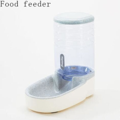Automatic feed and water dispenser: keep your pet healthy