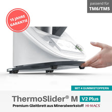 Laden Sie das Bild in den Galerie-Viewer, ThermoSlider® M | V2 Plus | Midnight Grey | Premium-Gleitbrett für Thermomix TM6/TM5