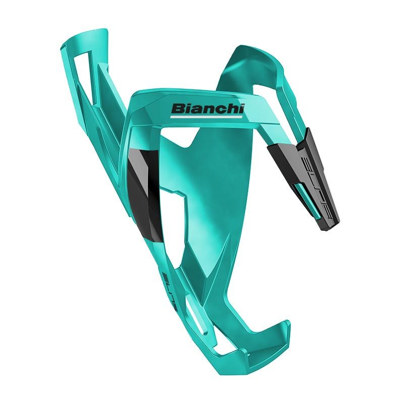 Bianchi Custom Race Plus Celeste/Black Bottle Cage