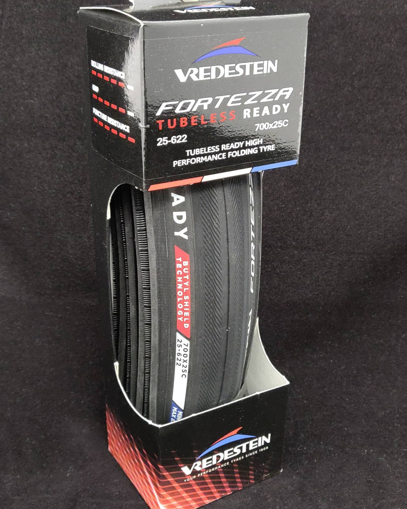 Tyre Vred Fortezza 700x25C Tubeless Ready