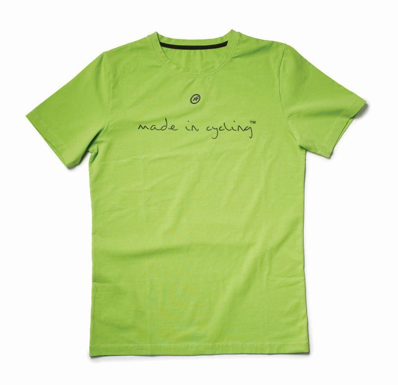 "Assos T-shirt ""Made in Cycling"" SS Man, green"