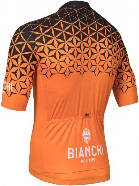 Bianchi Conca Black Orange Jersey