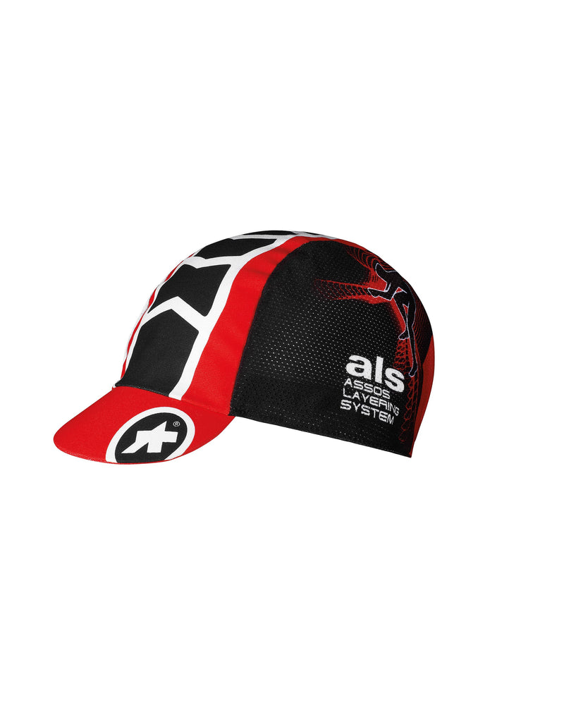 Assos milleCap_evo 8 - National Red