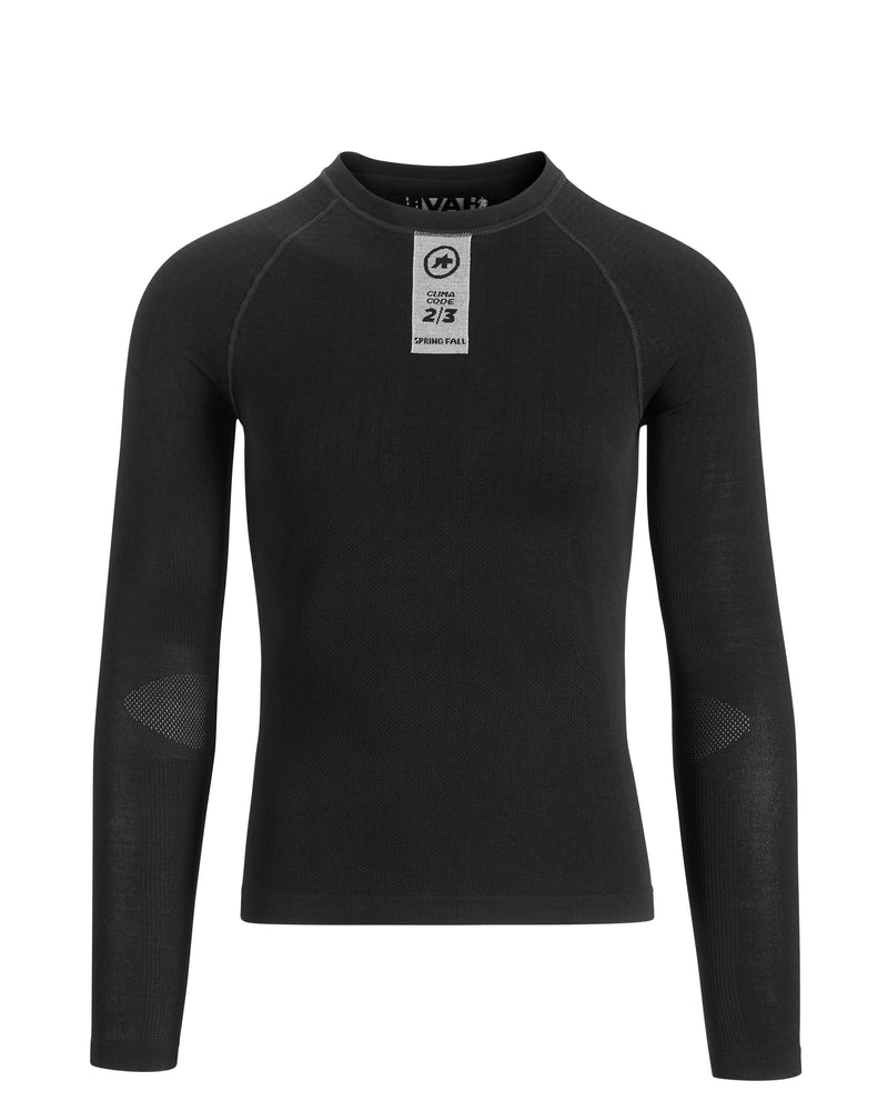 Assos SKINFOIL Spring/Fall Long Sleeve Base Layer - Factory Clearance
