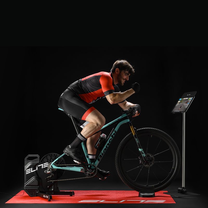 Elite Suito Smart Trainer Bundle - Free mat + Sterzo steering*